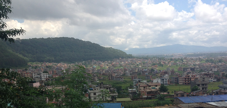 View for Homestay in Kathmand